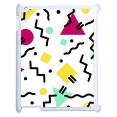 Art Background Abstract Unique Apple Ipad 2 Case (white)
