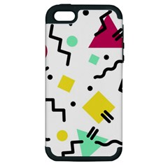 Art Background Abstract Unique Apple Iphone 5 Hardshell Case (pc+silicone)