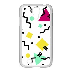 Art Background Abstract Unique Samsung Galaxy S4 I9500/ I9505 Case (white)