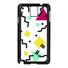 Art Background Abstract Unique Samsung Galaxy Note 3 N9005 Case (black)