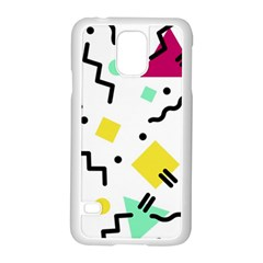 Art Background Abstract Unique Samsung Galaxy S5 Case (white)
