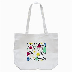 Art Background Abstract Unique Tote Bag (white)