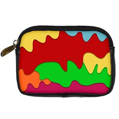 Liquid Forms Water Background Digital Camera Cases by Nexatart