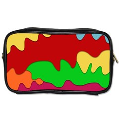Liquid Forms Water Background Toiletries Bags by Nexatart