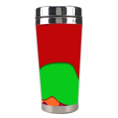 Liquid Forms Water Background Stainless Steel Travel Tumblers