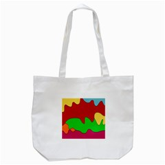 Liquid Forms Water Background Tote Bag (white)