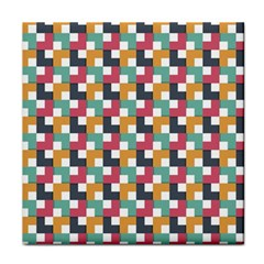 Background Abstract Geometric Tile Coasters