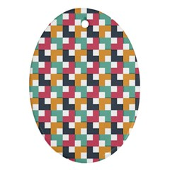 Background Abstract Geometric Ornament (oval)