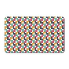 Background Abstract Geometric Magnet (rectangular)