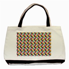 Background Abstract Geometric Basic Tote Bag by Nexatart