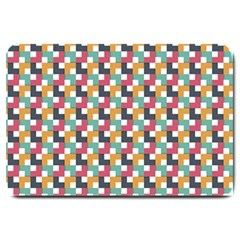 Background Abstract Geometric Large Doormat