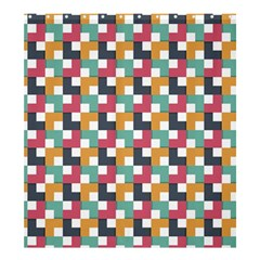 Background Abstract Geometric Shower Curtain 66  X 72  (large)