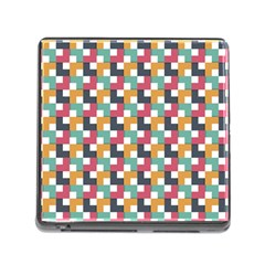 Background Abstract Geometric Memory Card Reader (square)
