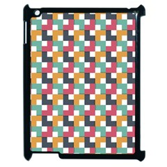 Background Abstract Geometric Apple Ipad 2 Case (black)
