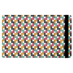 Background Abstract Geometric Apple Ipad 3/4 Flip Case