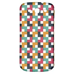 Background Abstract Geometric Samsung Galaxy S3 S Iii Classic Hardshell Back Case