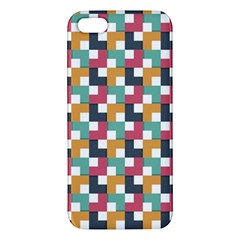 Background Abstract Geometric Apple Iphone 5 Premium Hardshell Case