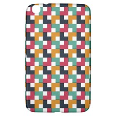 Background Abstract Geometric Samsung Galaxy Tab 3 (8 ) T3100 Hardshell Case