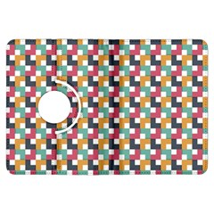 Background Abstract Geometric Kindle Fire Hdx Flip 360 Case