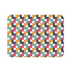 Background Abstract Geometric Double Sided Flano Blanket (mini)