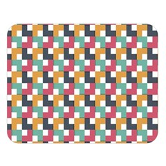 Background Abstract Geometric Double Sided Flano Blanket (large)