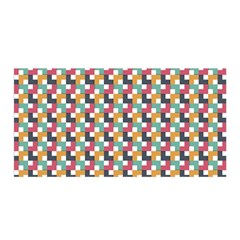 Background Abstract Geometric Satin Wrap
