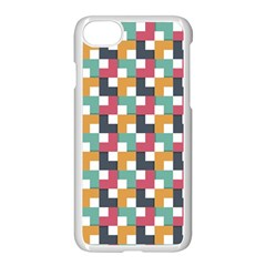Background Abstract Geometric Apple Iphone 7 Seamless Case (white)