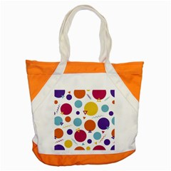Background Polka Dot Accent Tote Bag