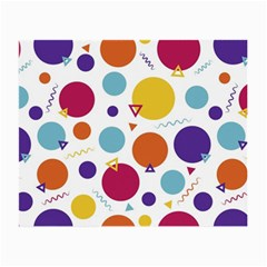 Background Polka Dot Small Glasses Cloth (2 Side)