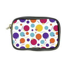 Background Polka Dot Coin Purse