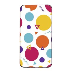 Background Polka Dot Apple Iphone 4/4s Seamless Case (black)