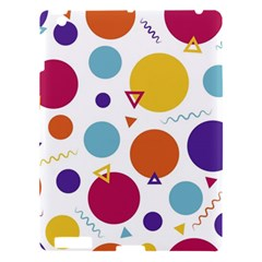 Background Polka Dot Apple Ipad 3/4 Hardshell Case