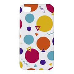 Background Polka Dot Apple Iphone 4/4s Premium Hardshell Case