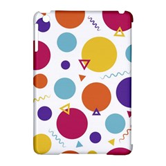 Background Polka Dot Apple Ipad Mini Hardshell Case (compatible With Smart Cover) by Nexatart