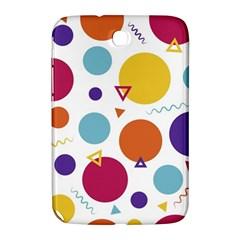 Background Polka Dot Samsung Galaxy Note 8 0 N5100 Hardshell Case