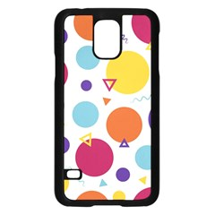 Background Polka Dot Samsung Galaxy S5 Case (black)