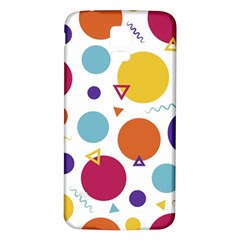Background Polka Dot Samsung Galaxy S5 Back Case (white)