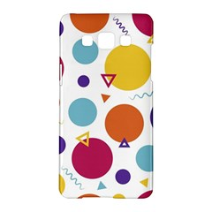 Background Polka Dot Samsung Galaxy A5 Hardshell Case