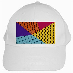 Background Abstract Memphis White Cap
