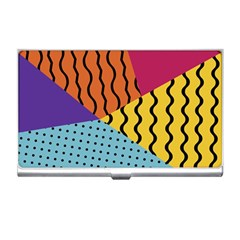 Background Abstract Memphis Business Card Holders