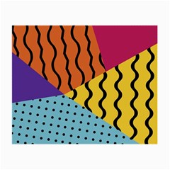 Background Abstract Memphis Small Glasses Cloth (2 Side)