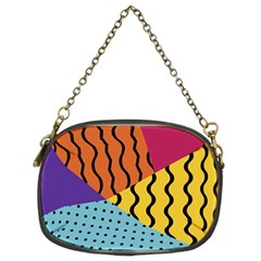 Background Abstract Memphis Chain Purses (two Sides)