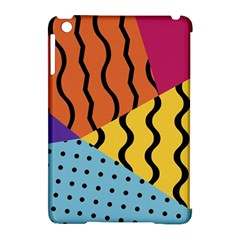 Background Abstract Memphis Apple Ipad Mini Hardshell Case (compatible With Smart Cover) by Nexatart