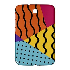 Background Abstract Memphis Samsung Galaxy Note 8 0 N5100 Hardshell Case