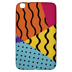 Background Abstract Memphis Samsung Galaxy Tab 3 (8 ) T3100 Hardshell Case