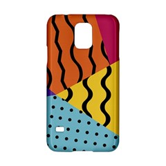 Background Abstract Memphis Samsung Galaxy S5 Hardshell Case