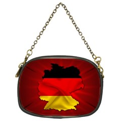 Germany Map Flag Country Red Flag Chain Purses (two Sides)