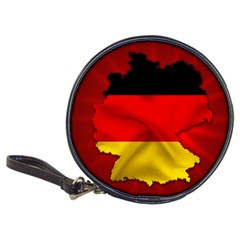 Germany Map Flag Country Red Flag Classic 20 Cd Wallets
