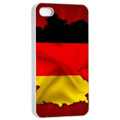 Germany Map Flag Country Red Flag Apple Iphone 4/4s Seamless Case (white)