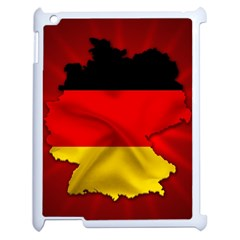 Germany Map Flag Country Red Flag Apple Ipad 2 Case (white)